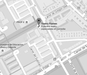 plano ubicación Aulaescena