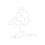 logotipo aulaescena blanco